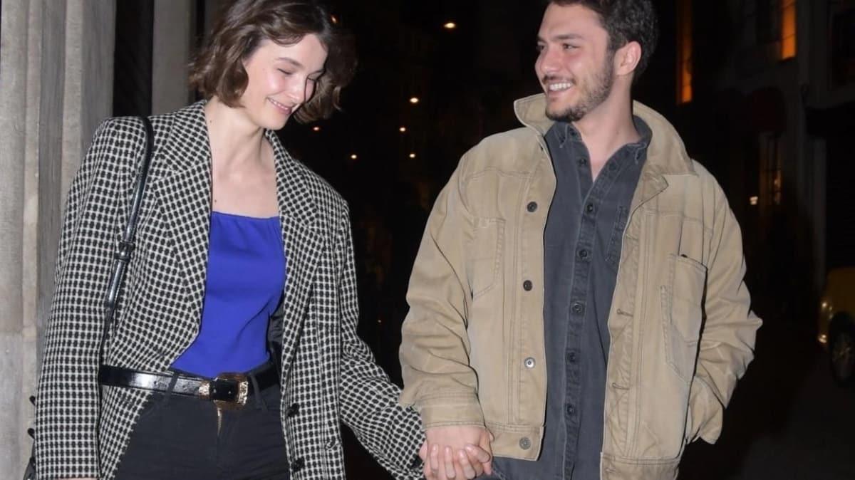 Büşra Develi doğum gününde Cem Aktay ile aşkını ilan etti!