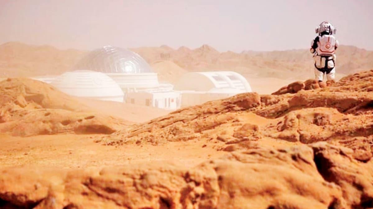 Mars'a ulusal marş: Bu çölü canlandırın!