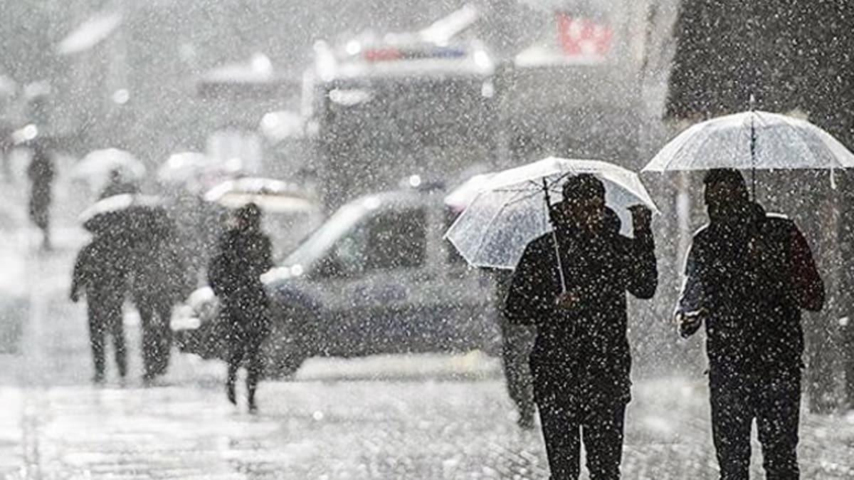 Meteoroloji'den Marmara Bölgesi için uyarı: Sağanak yağış geliyor