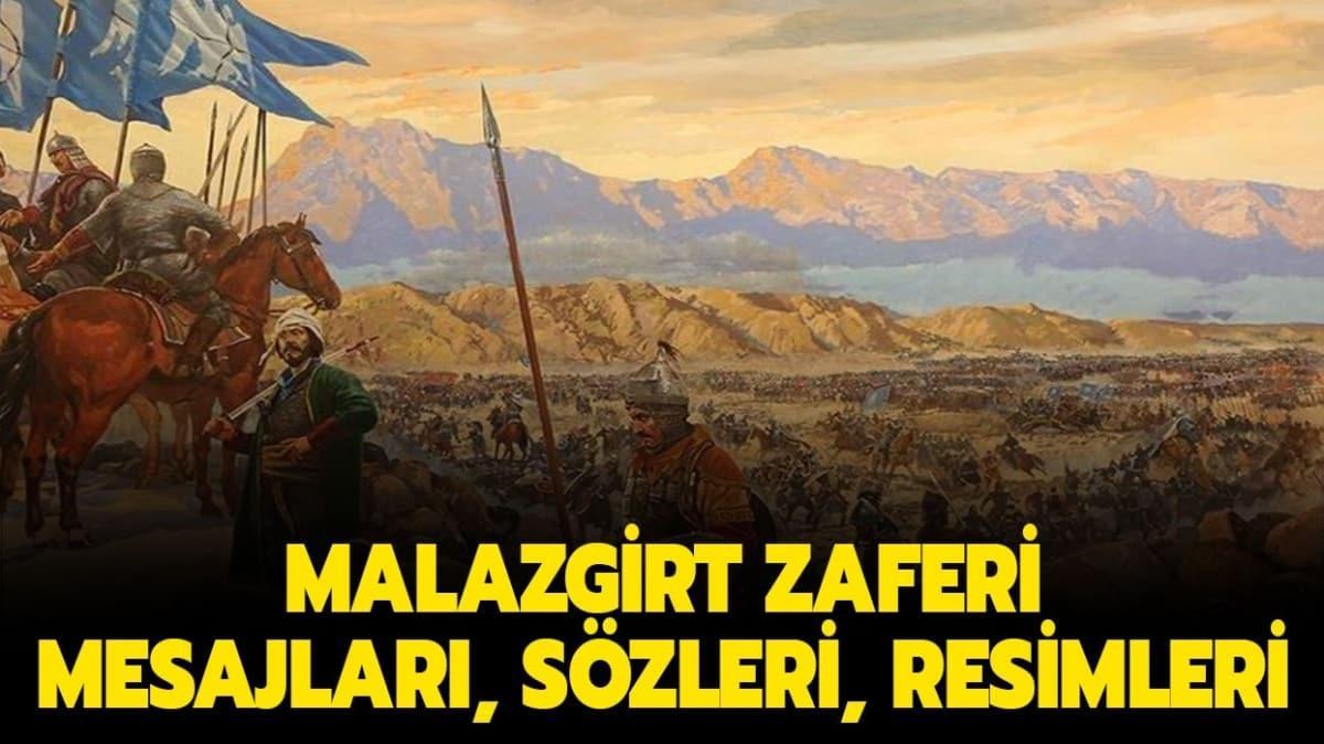En güzel Malazgirt Zaferi mesajları ve sözleri: Malazgirt Zaferi resimleri!