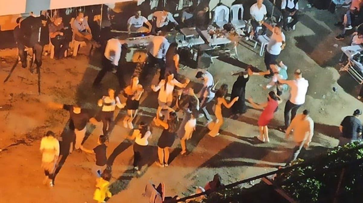 Ankara'da akılalmaz kına gecesi: Koronaya davetiye çıkardılar