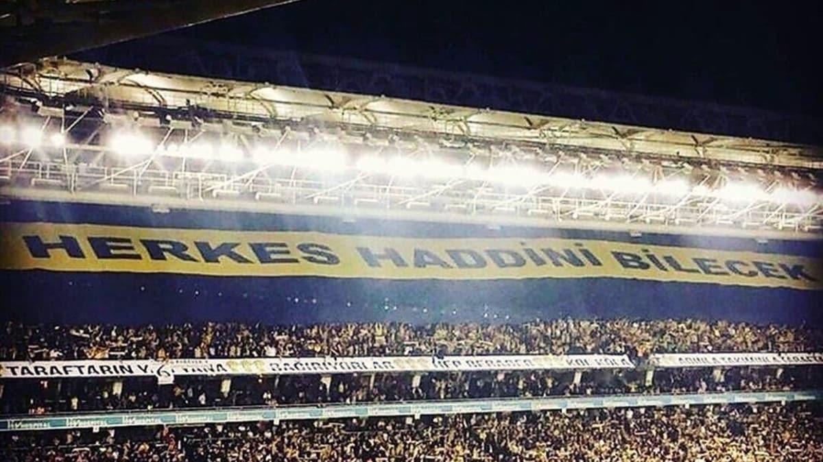 Fenerbahçe'den Galatasaray'a gönderme: Bizimle aynı cümlede dahi olamazsınız