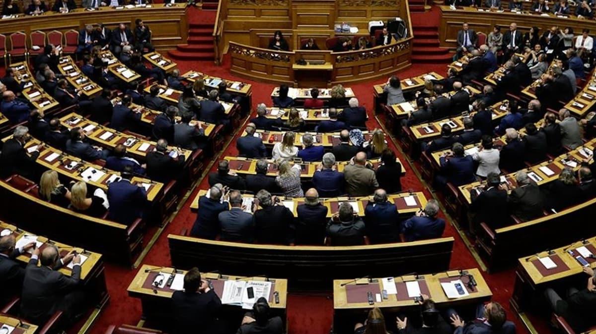Yunan parlamentosundan provokatif karar... Mısır ile imzalanan sözde anlaşmayı onayladılar!