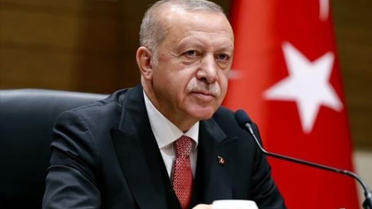 Başkan Erdoğan Libya Yüksek Konsey Başkanı Halid el-Mişri'yi kabul ediyor