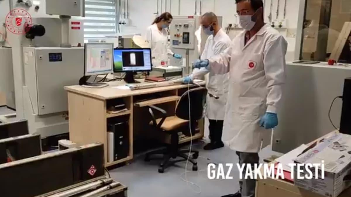 İlk kez görüntülendi: İşte Karadeniz'de keşfedilen doğal gaz rezervinin yanma testi