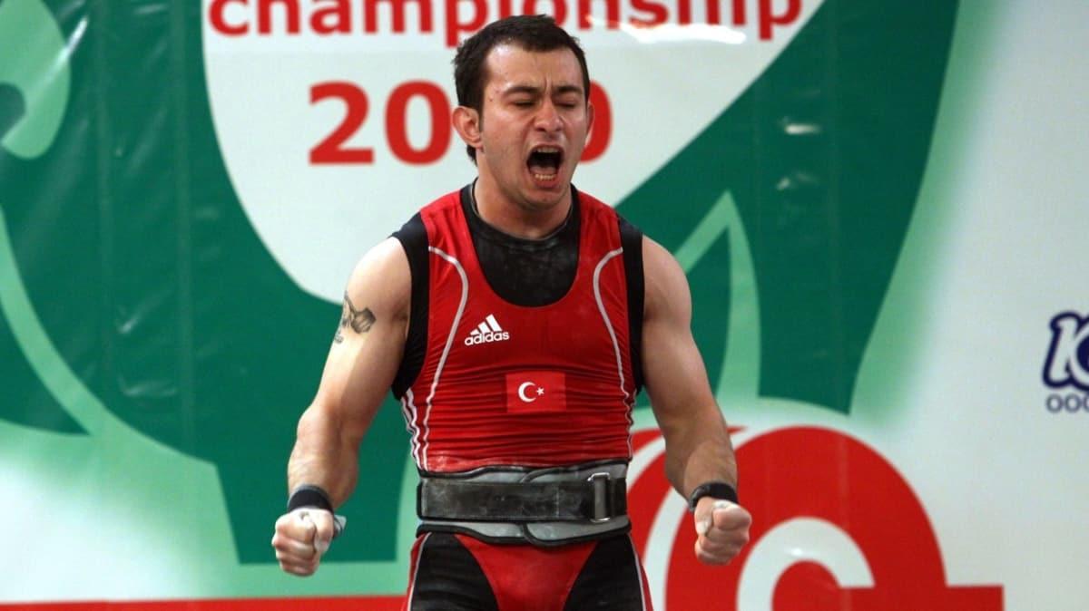 Doping yapan milli halterci Erol Bilgin'in derecesi ve diploması geri alınacak