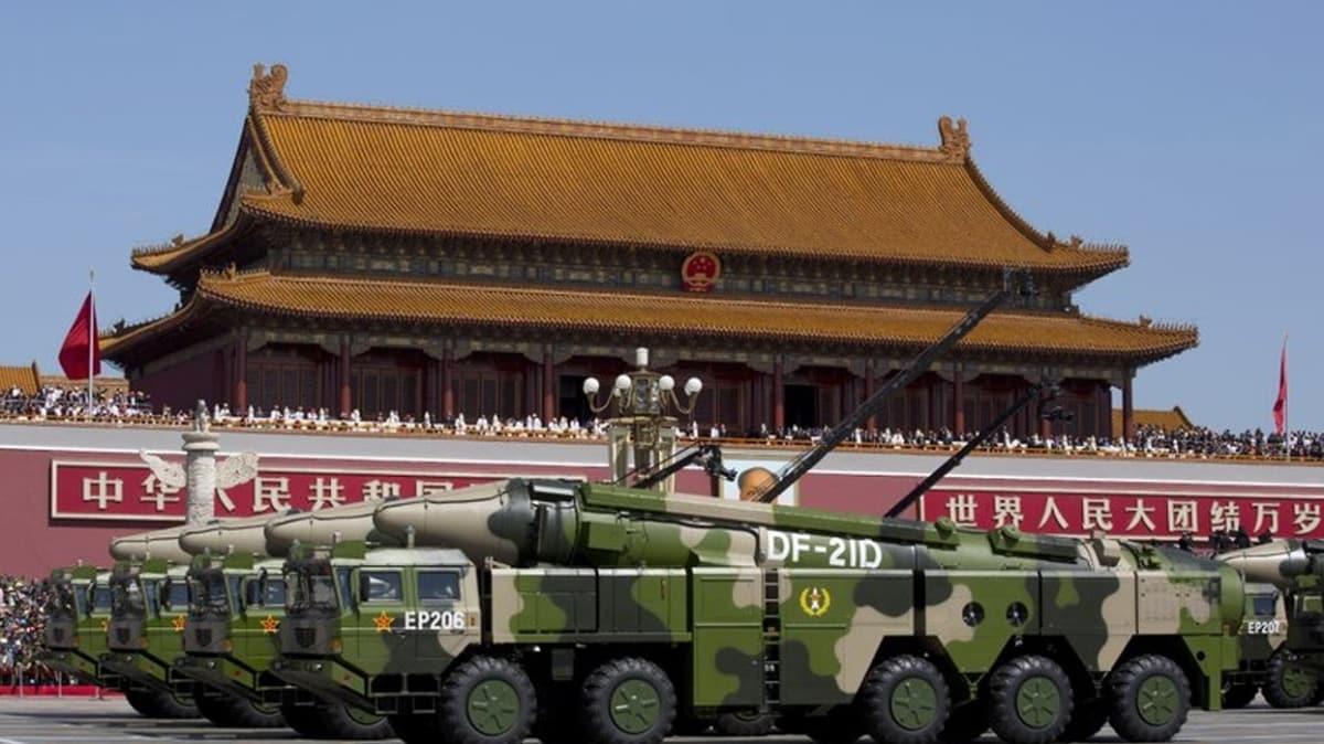 ABD ve Çin gerilimini tırmandıracak iddia! Çin,'taşıyıcı katil' dahil iki füze denemesi yaptı