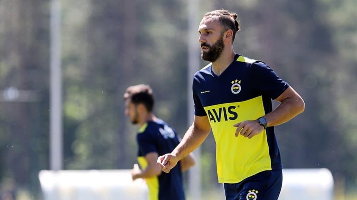 Fenerbahçe'de Vedat Muric, Tolgay Arslan ve İsmail Yüksek saha çalışmalarına başladı