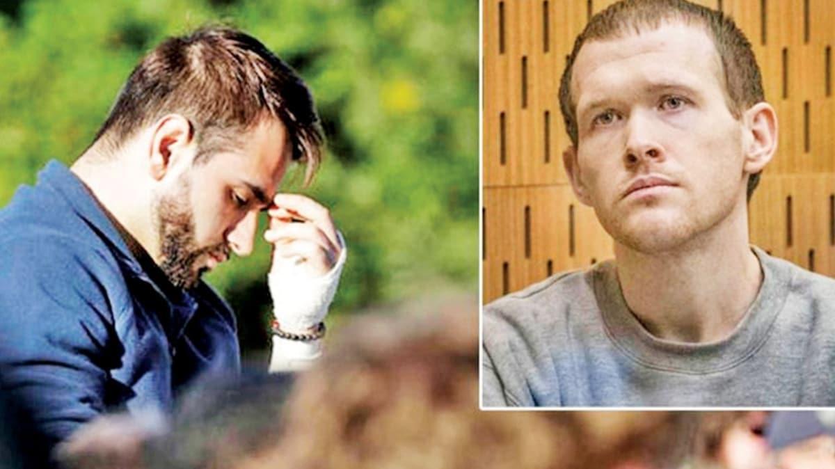 Yeni Zelanda'daki cami saldırılarından yaralı kurtulan Mustafa Boztaş'tan terörist Brenton Tarrant'a: Korkak, önemsiz zavallı bir katilsin