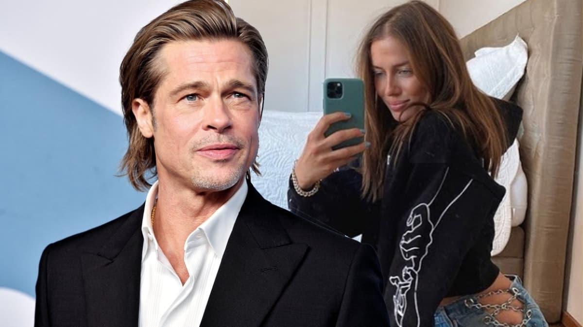 """Brad Pitt aradığı aşkı Alman model Nicole Poturalski'de mi buldu"""""""