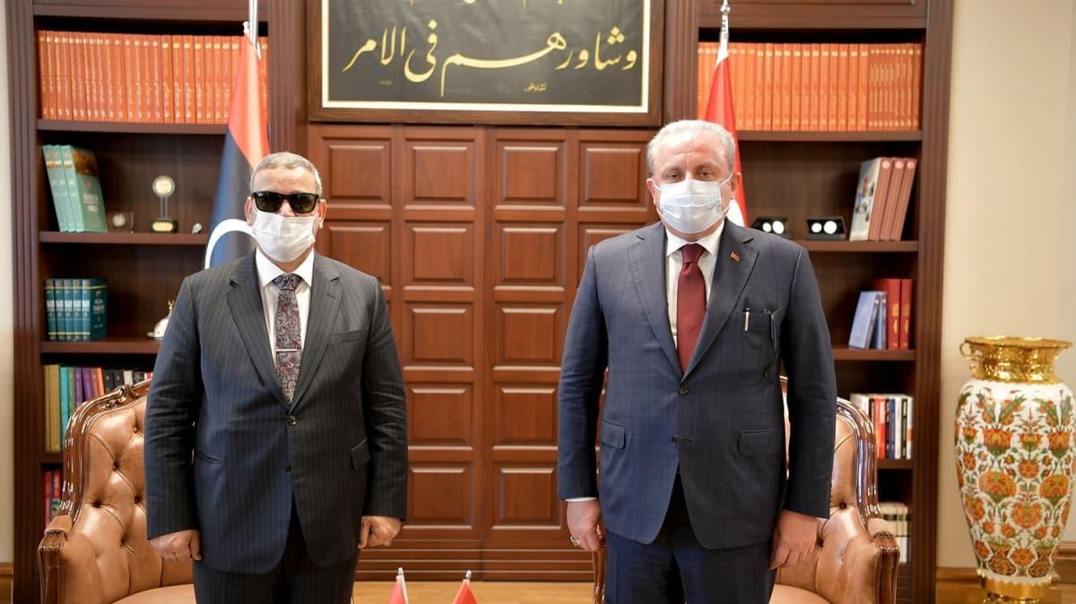 TBMM Başkanı Şentop: Mısır, BAE ve Fransa Libya'daki meşru hükümete saygı göstermeli