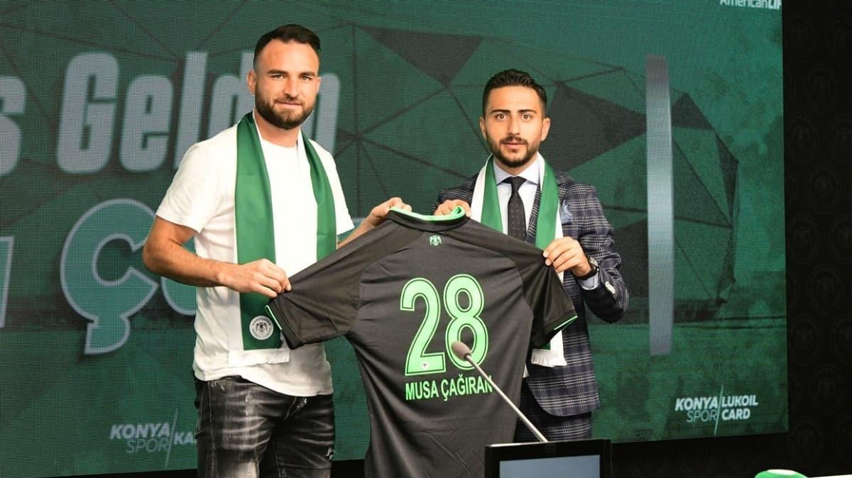 Konyaspor, Musa Çağıran ile 2 yıllık sözleşme imzaladı