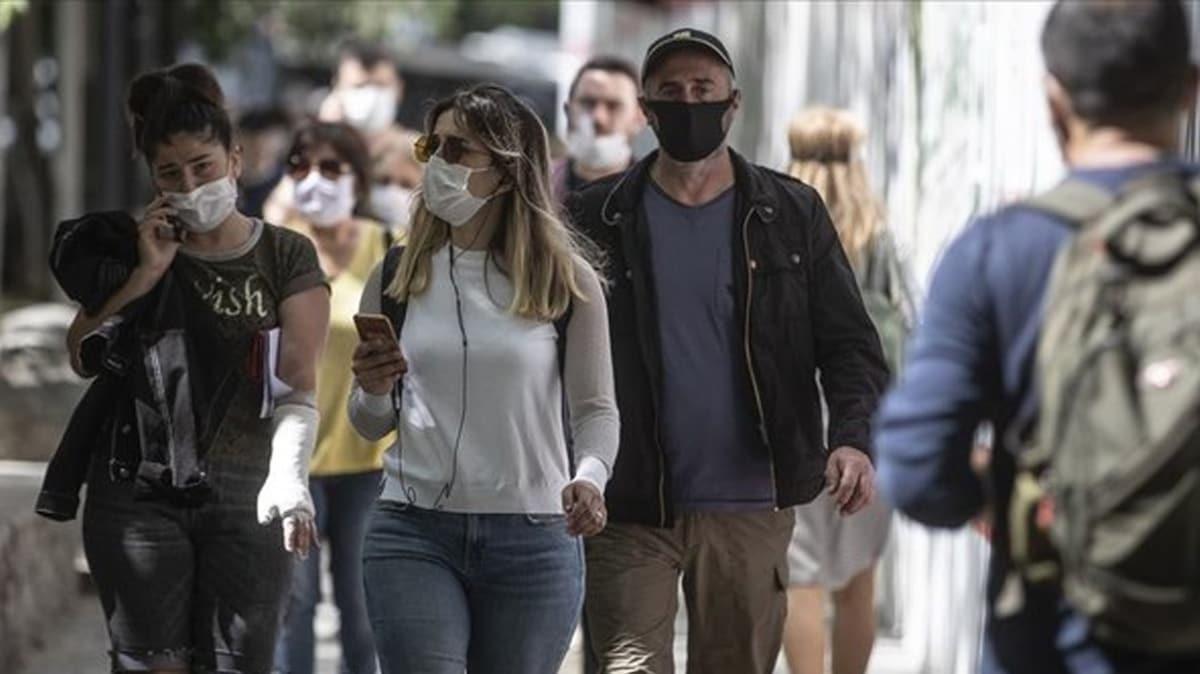 İstanbul'daki maske denetimlerinde 15 bin 621 kişiye işlem uygulandı