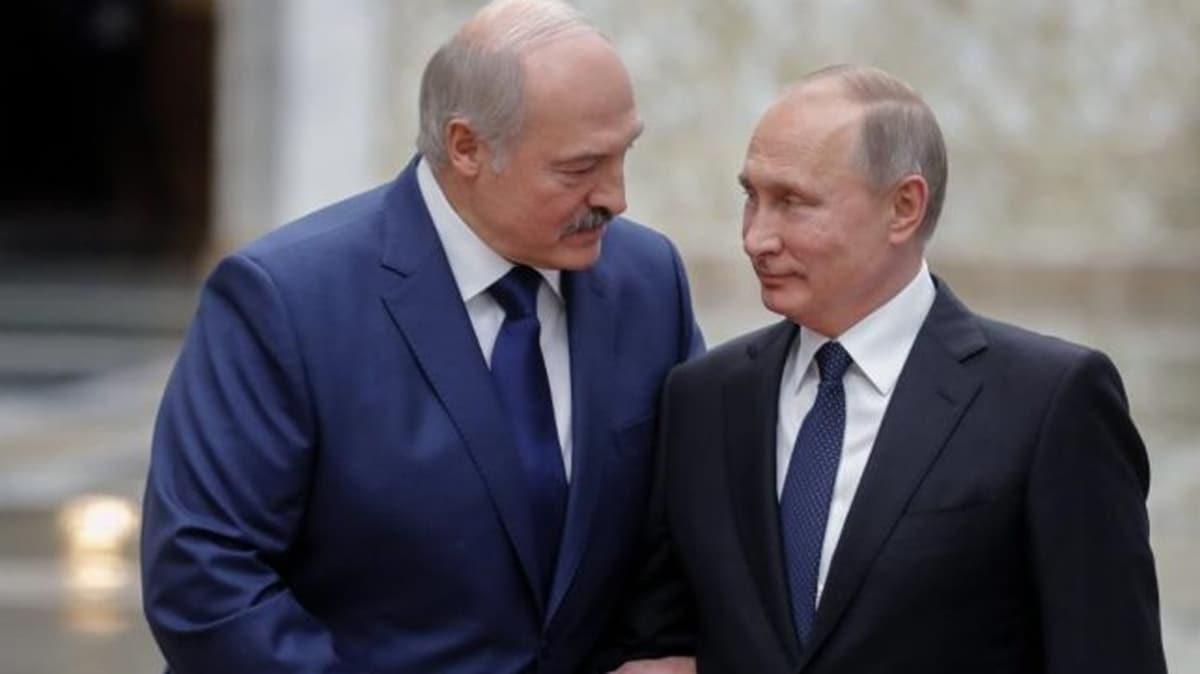 Putin: Belarus'un talebi üzerine özel bir polis gücü oluşturduk
