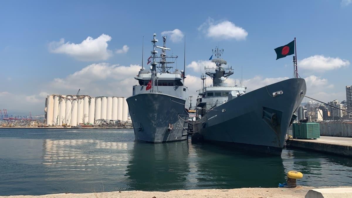 Beyrut'taki patlamada hasar görmüştü... Türk Deniz Kuvvetlerinden Bangladeş Donanmasına yardım eli