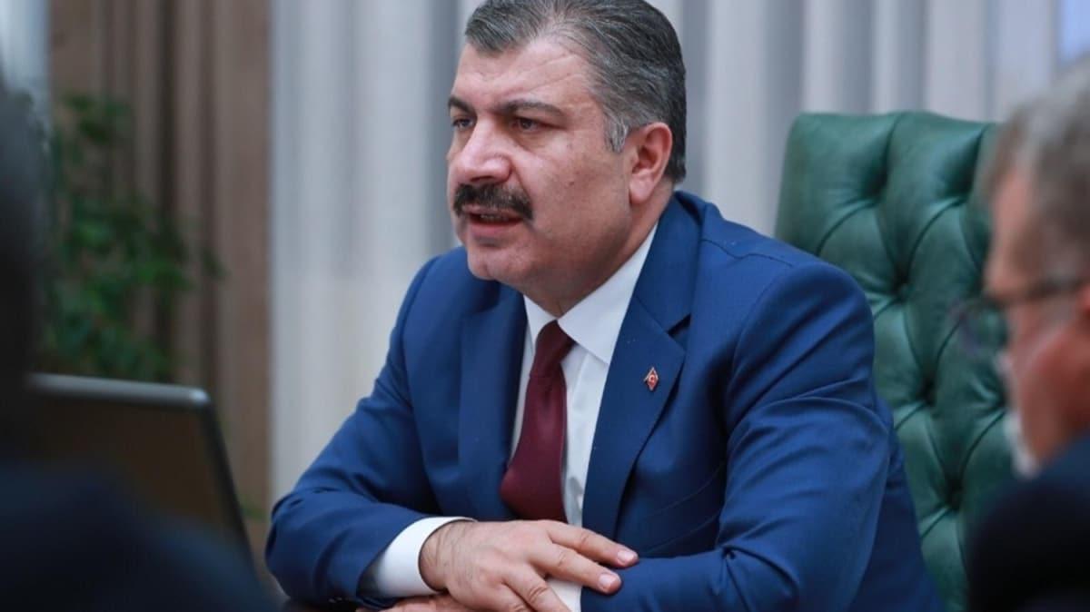 Sağlık Bakanı Koca 6 ilin sağlık müdürüyle görüştü