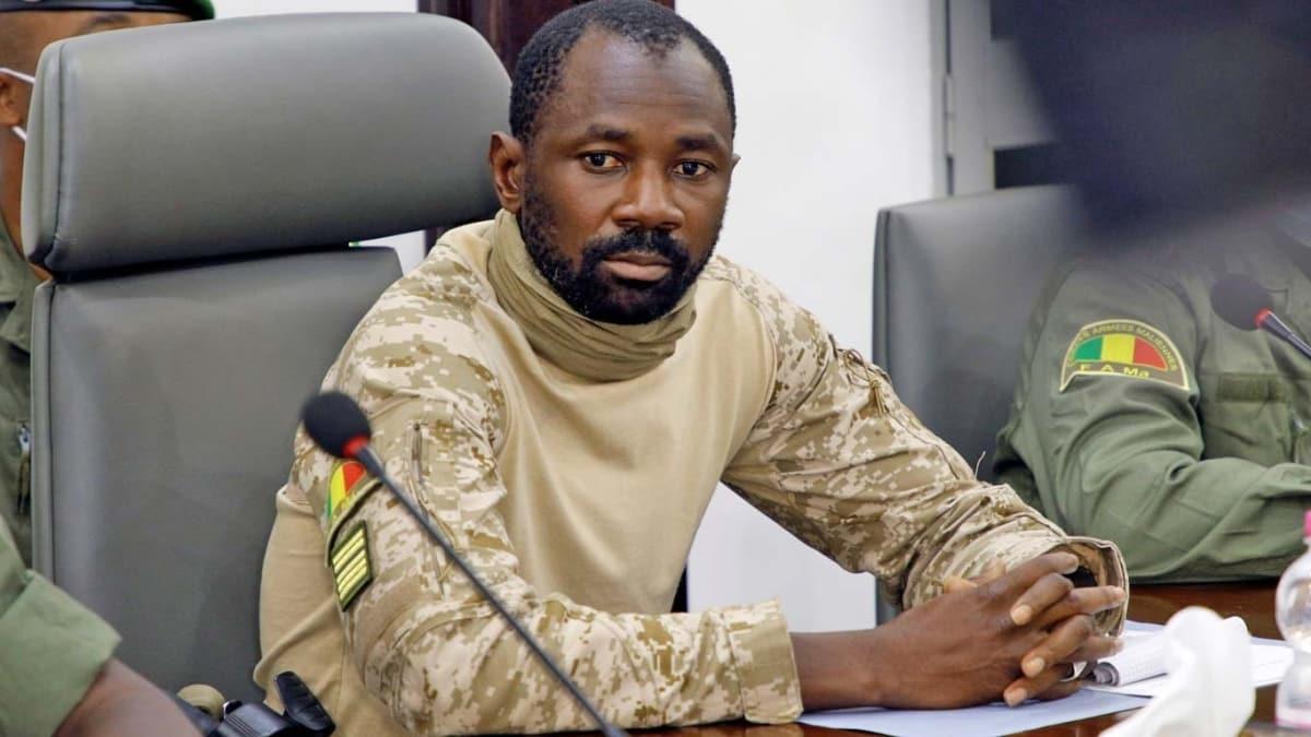 Mali'de askeri cuntanın lideri Goita, cumhurbaşkanı ilan edildi