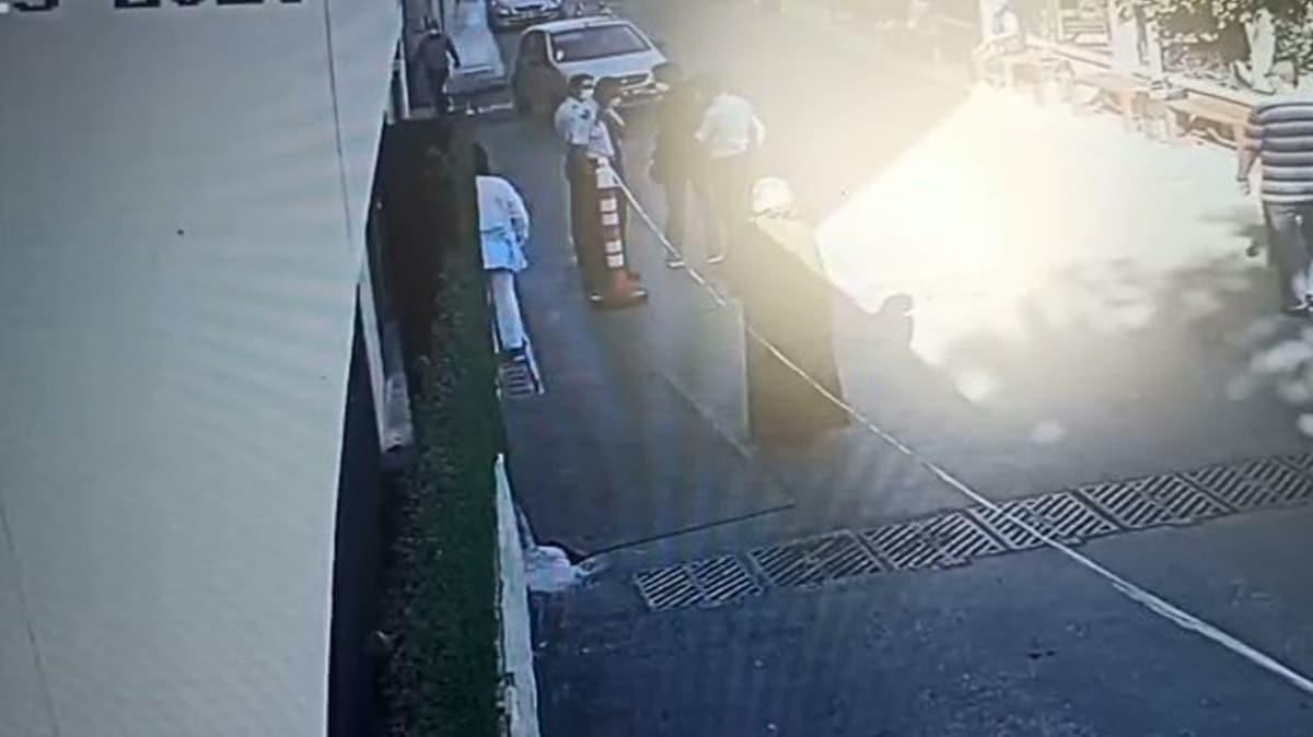 Hastaneye eski eşini öldürmeye geldi, güvenlik görevlilerinin dikkatiyle yakalandı