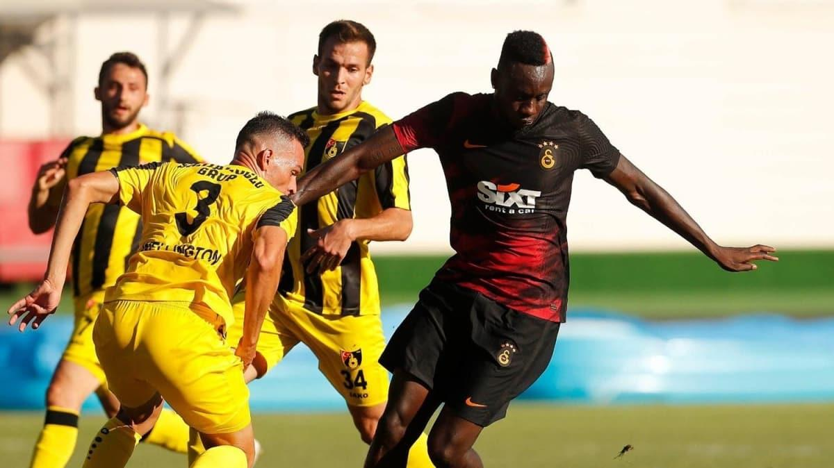 Galatasaray, hazırlık maçında İstanbulspor'u 1-0 mağlup etti