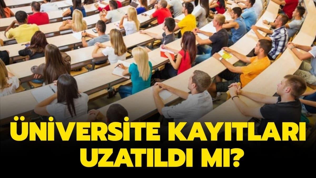 YÖK'ten üniversite kayıt tarihi açıklaması!
