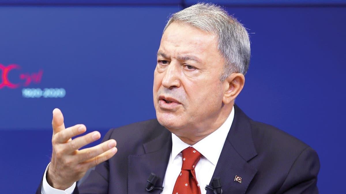 Milli Savunma Bakanı Hulusi Akar: Rumlar 1960 anlaşmasını ihlal ediyor