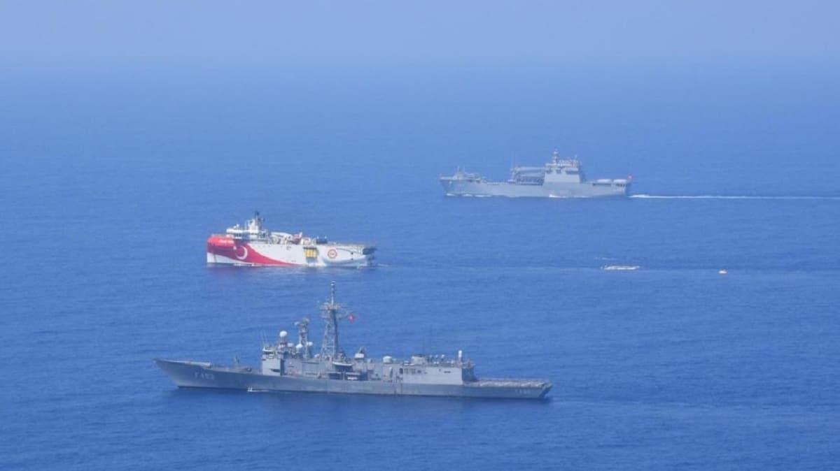 MSB duyurdu: Doğu Akdeniz'de deniz eğitimleri icra edildi