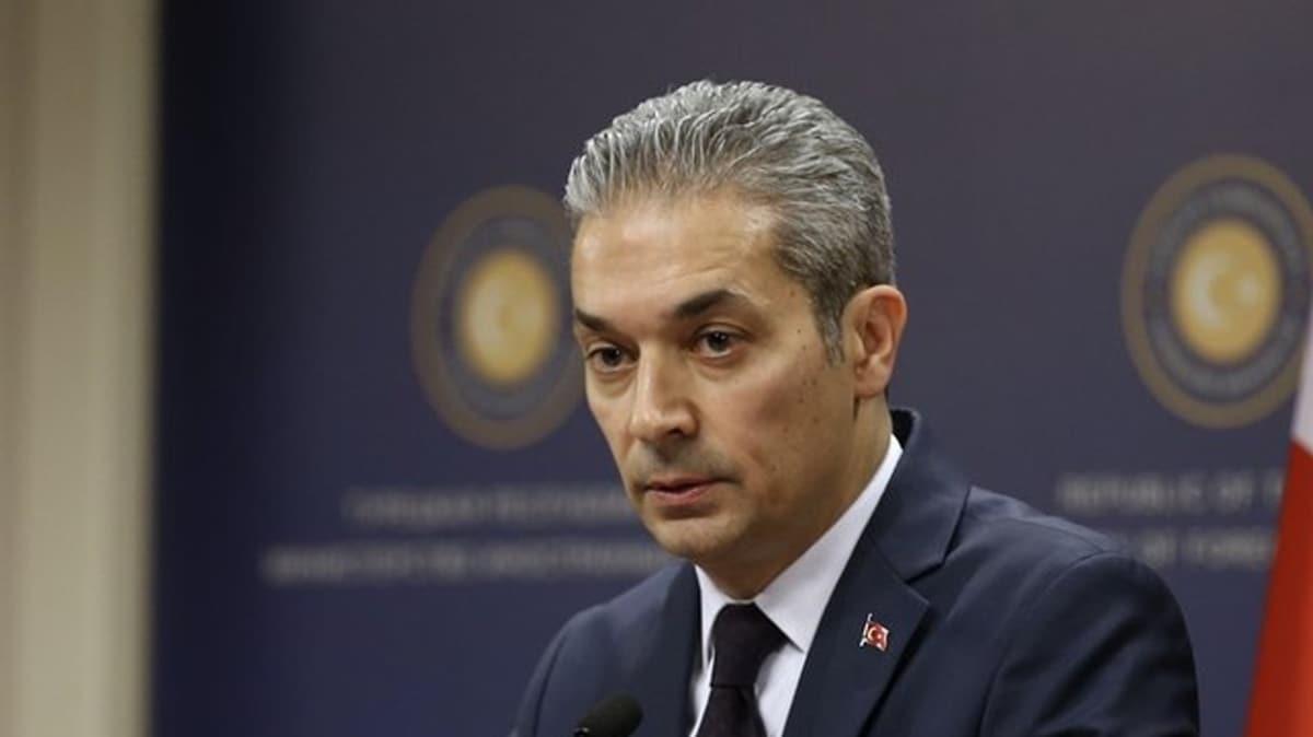 Dışişleri Bakanlığı: AB Doğu Akdeniz'de çözüm arzu ediyorsa tarafsız davranmalı