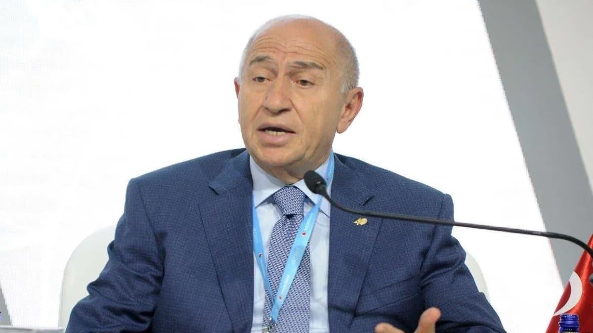 Nihat Özdemir: 1 Ekim'den itibaren maçları yüzde 30 kapasiteyle seyircili oynatmak istiyoruz