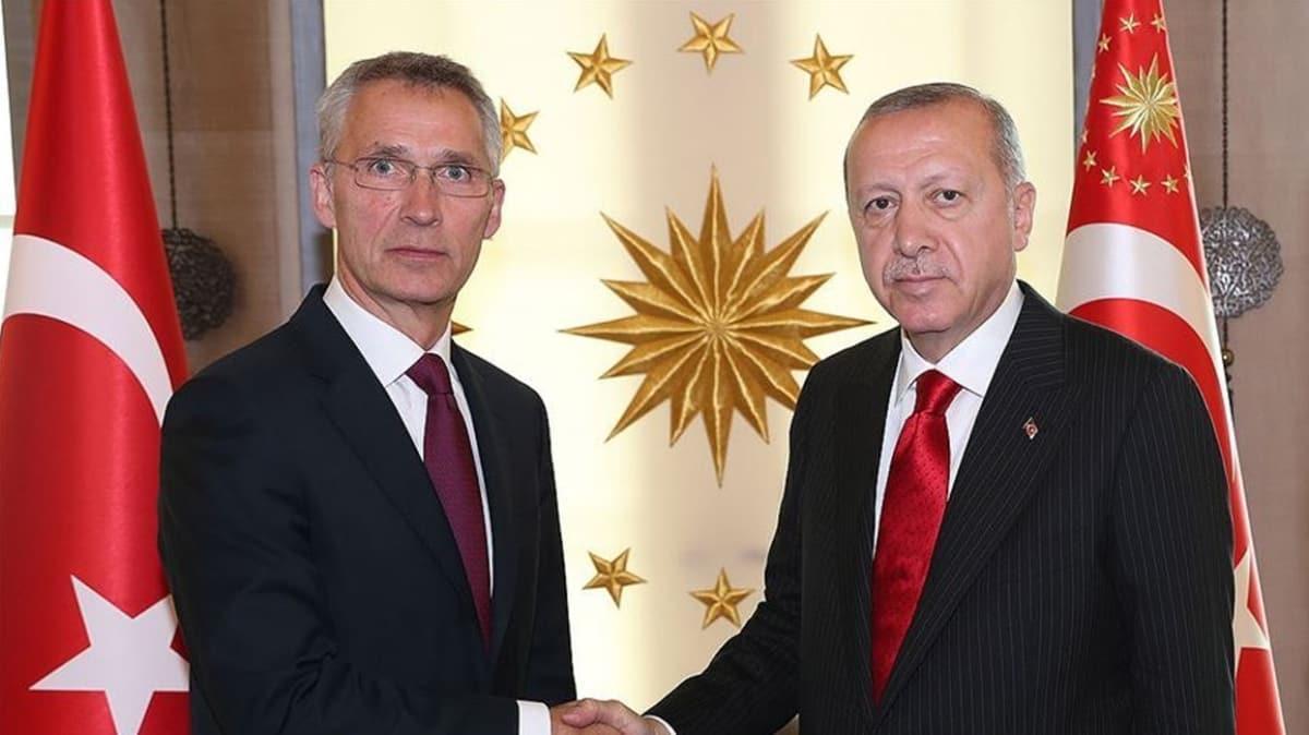 Başkan Erdoğan, NATO Genel Sekreteri Stoltenberg ile görüştü