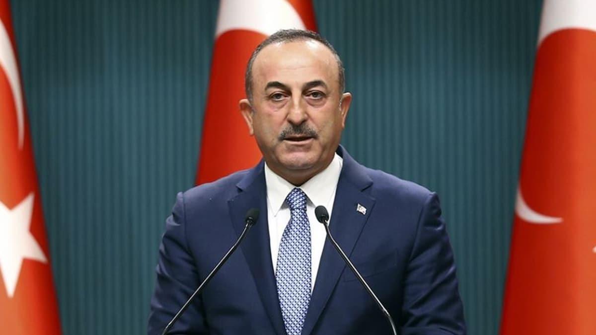 Dışişleri Bakanı Çavuşoğlu'ndan Yunanistan açıklaması: Savaş nedenidir