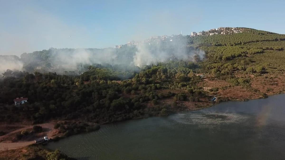 Maltepe'deki orman yangınıyla ilgili DHKP-C ve PKK bağlantısı bulunan 1 şüpheli gözaltına alındı