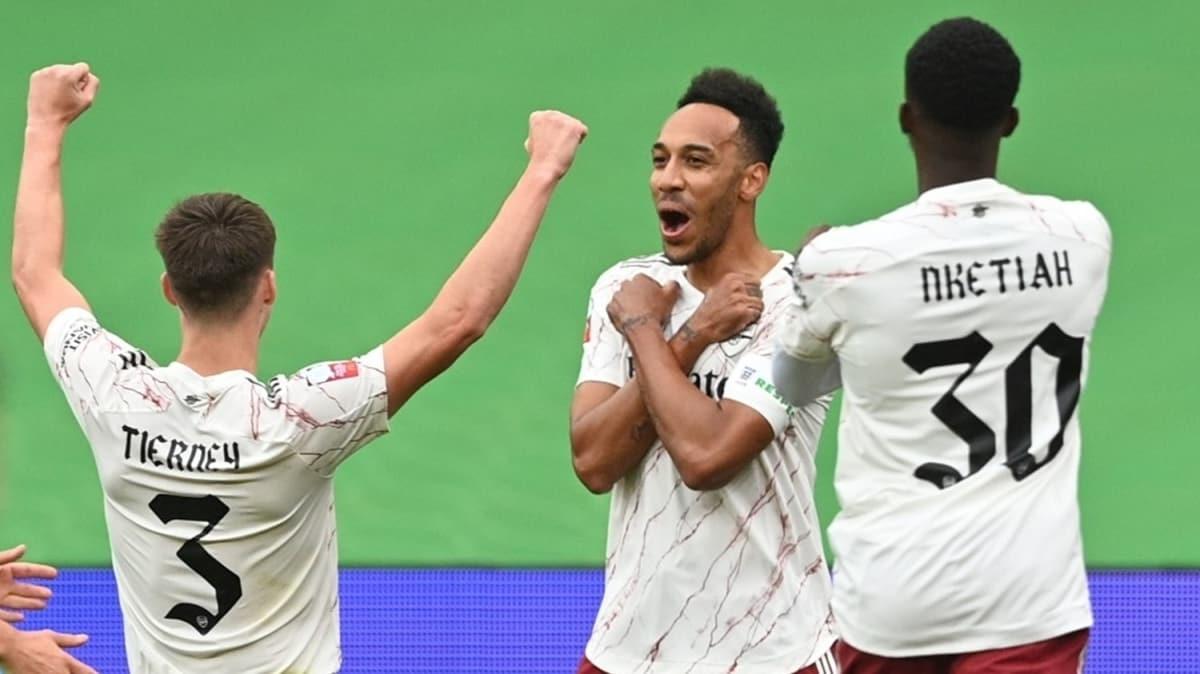 Liverpool'u deviren Arsenal, Community Shield şampiyonu
