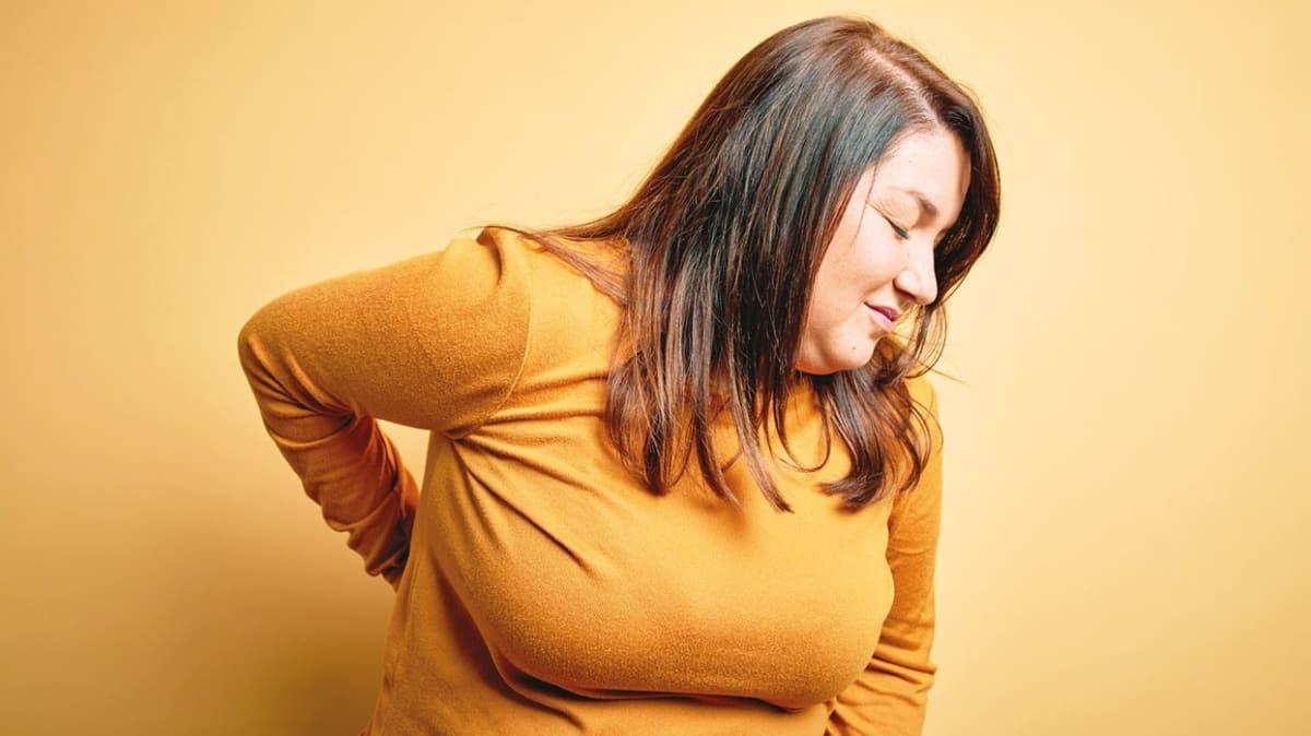 Fıtık hastaları dikkat! Kilo aldıkça ağrılar artar