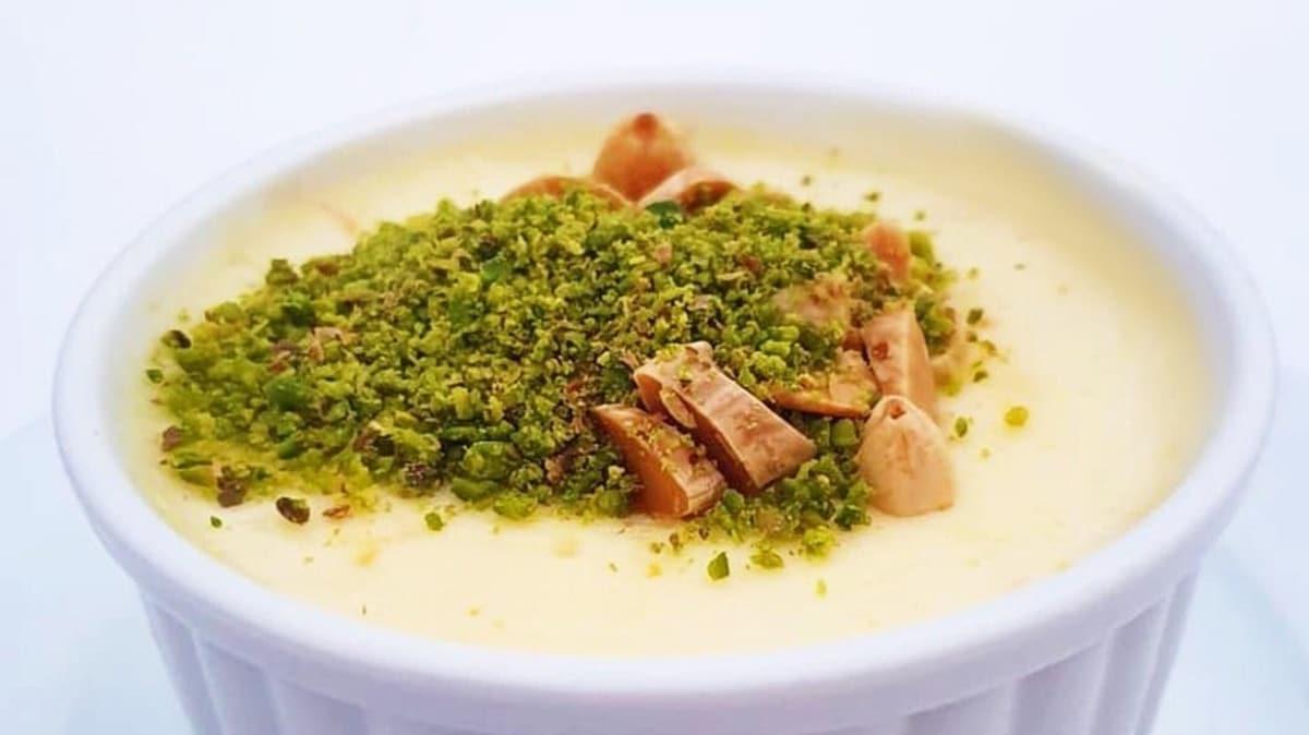 Osmanlı mutfağından gelen lezzet: Keşkül! Keşkül tarifi ve malzemeleri! 10 dakikada keşkül yapımı