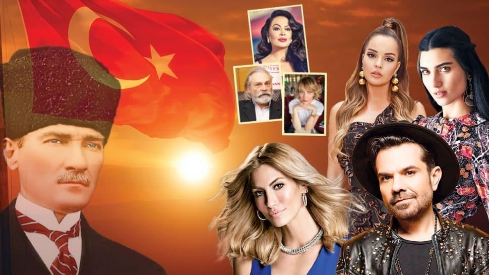 Türkan Şoray, Haluk Bilginer, Tuba Büyüküstün, Kenan Doğulu, Gülse Birsel, Bengü gibi ünlülerden 30 Ağustos Zafer Bayramı paylaşımları! 'Bir ulus küllerinden doğdu'