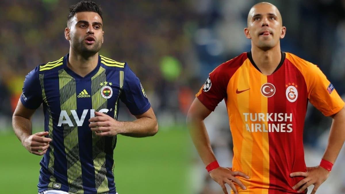 Süper Lig'de yılın takası: 'Ver Deniz'i al Feghouli'yi'