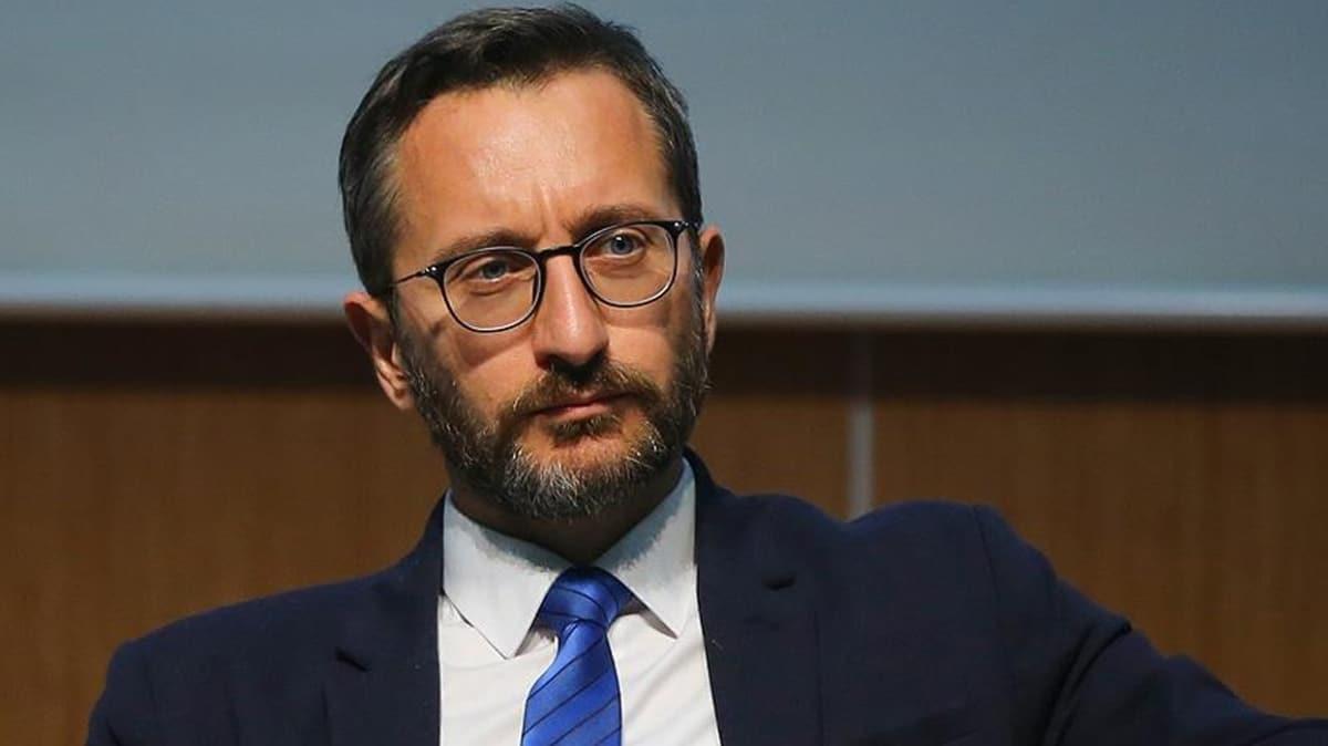 İletişim Başkanı Altun'dan DHKP-C'li Ebru Timtik'i savunanlara sert tepki