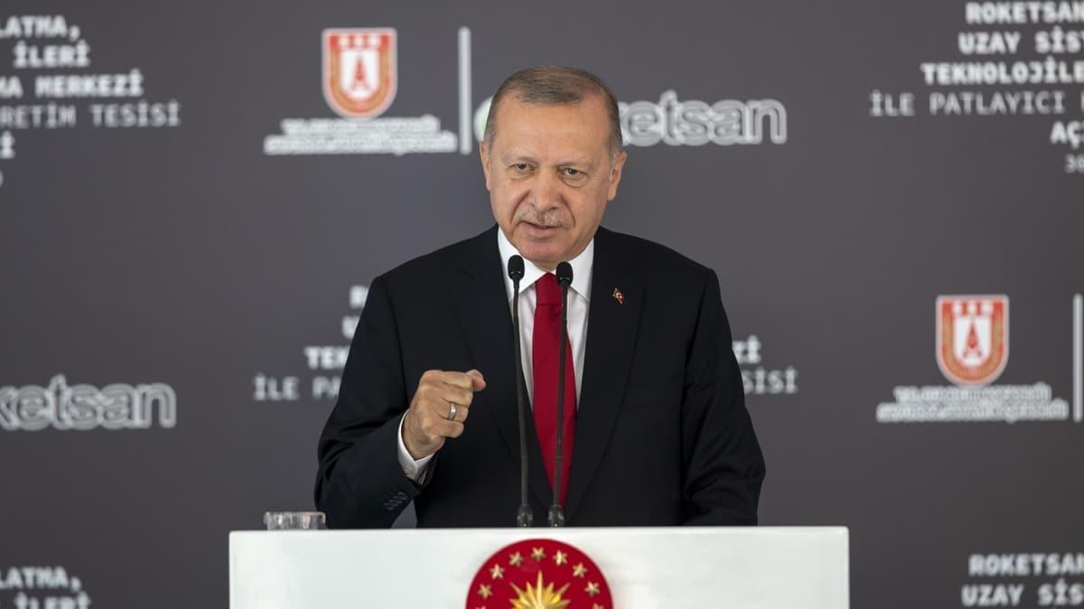 Başkan Erdoğan duyurdu: Artık yerli ve milli teknolojilerle uzay ligindeyiz
