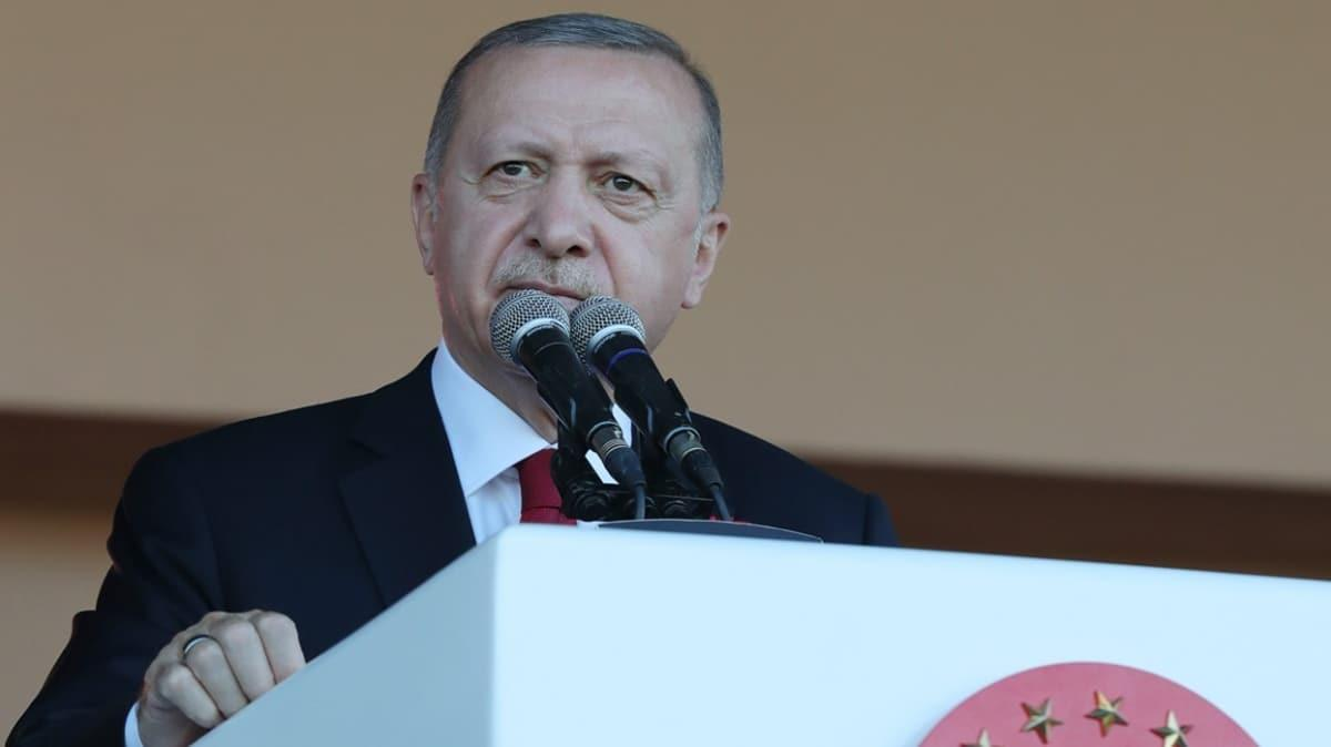 Başkan Erdoğan: Ok yaydan fırlamıştır ve mutlaka hedefini bulacaktır