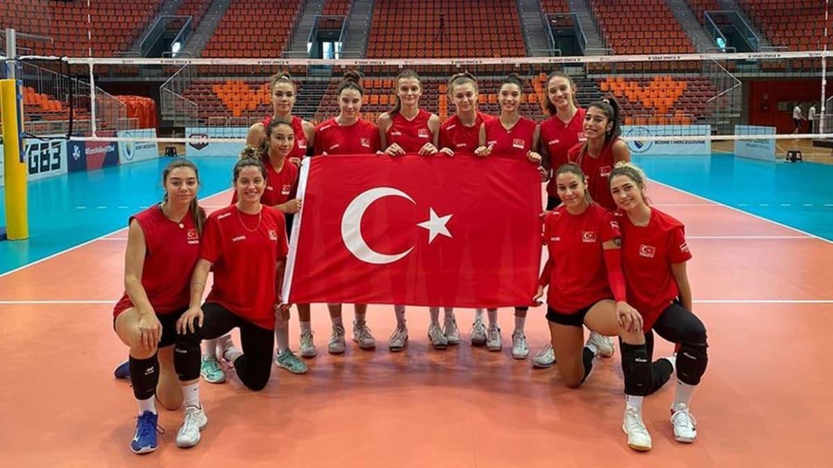 Türkiye 19 Yaş Altı Kız Voleybol Milli Takımı Avrupa Şampiyonu oldu