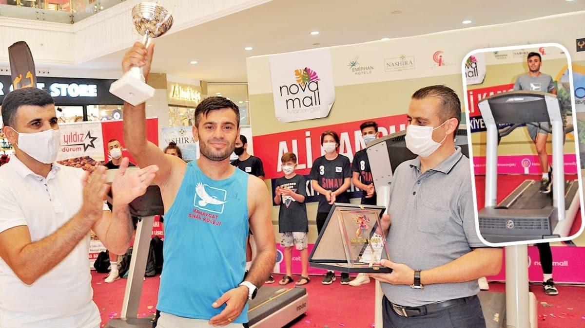 Koşu bandında Türkiye rekoru
