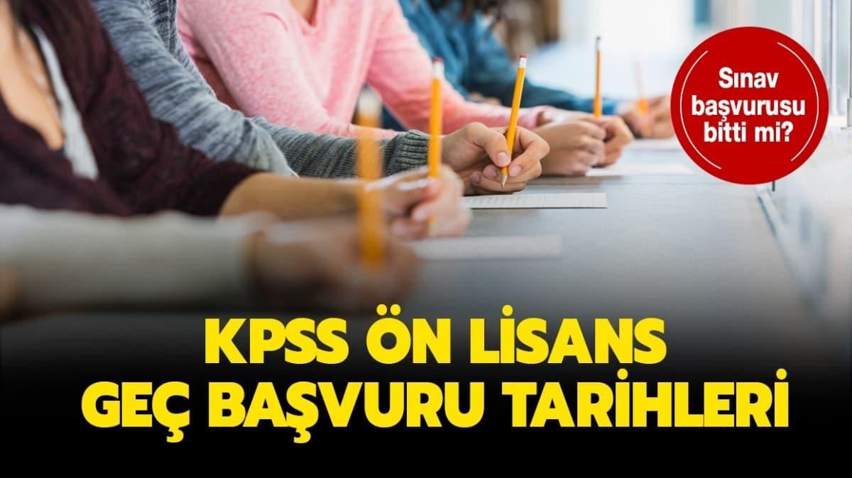 """KPSS ön lisans ücreti hangi bankalara yatırılacak"""" Ön lisans KPSS geç başvuru tarihi ne zaman"""""""