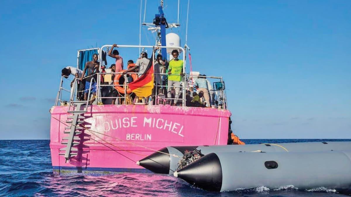 Banksy'nin gemisi 200 sığınmacıyı kurtardı