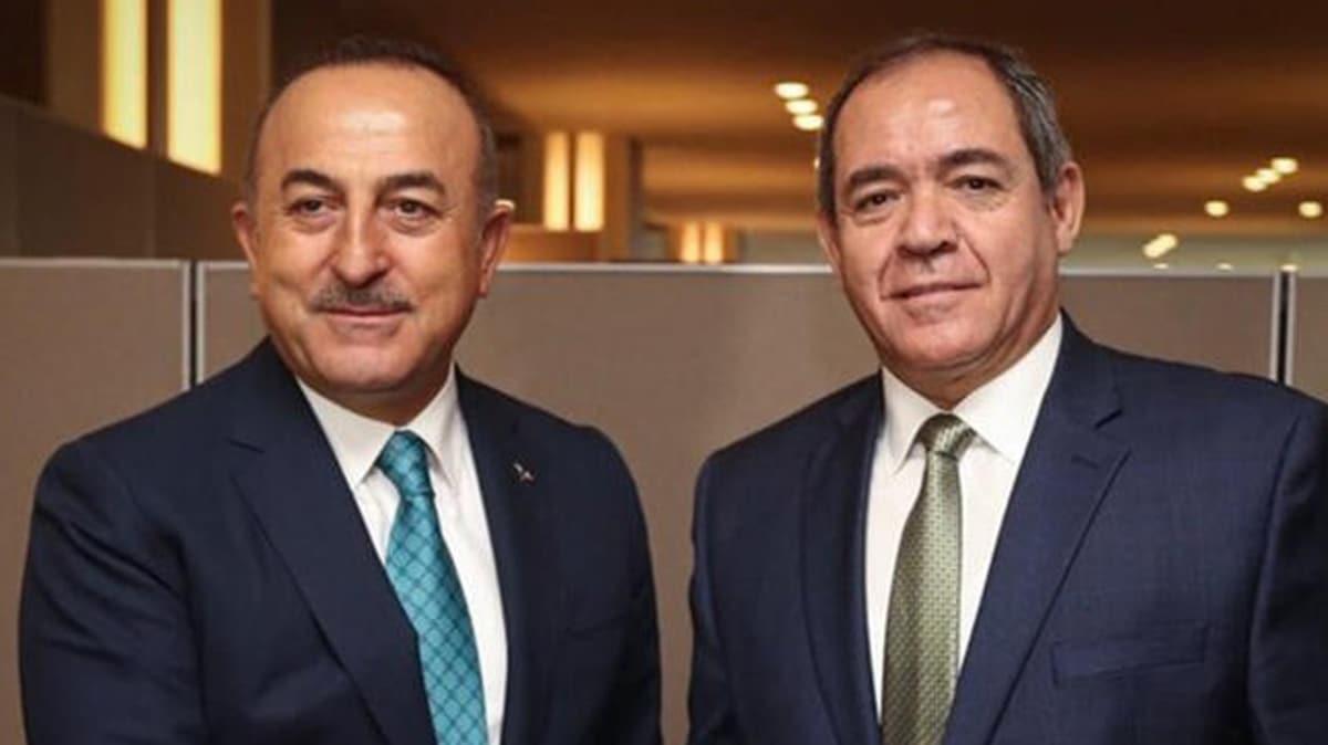 Cezayir Dışişleri Bakanı Sabri Boukadoum yarın Türkiye'ye geliyor