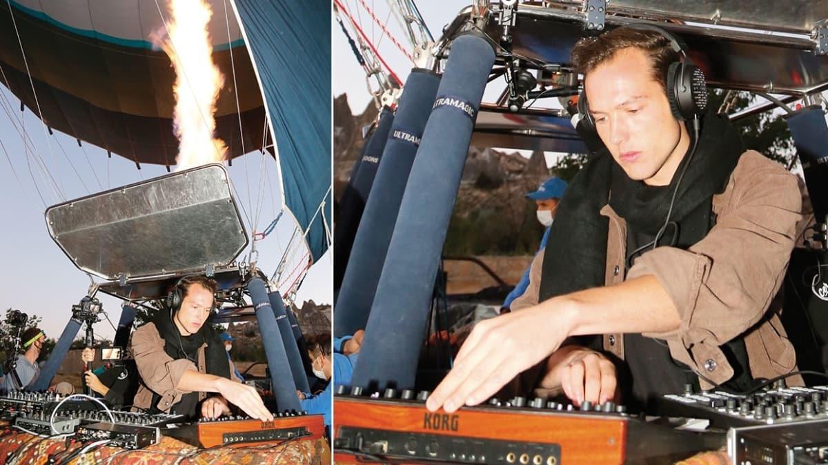 DJ Ben Böhmer'den Kapadokya semalarında performans
