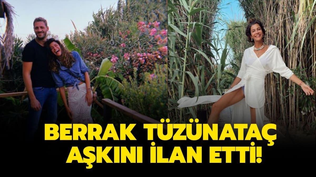 """Berrak Tüzünataç sevgilisi Ali Yörenç kaç yaşında, ne iş yapıyor""""  Berrak Tüzünataç kimdir"""""""