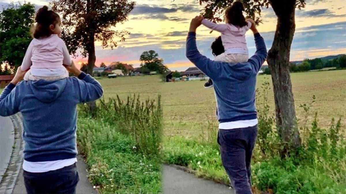 Tarkan'dan kızıyla paylaşım: Liya ile doğa yürüyüşlerimize devam