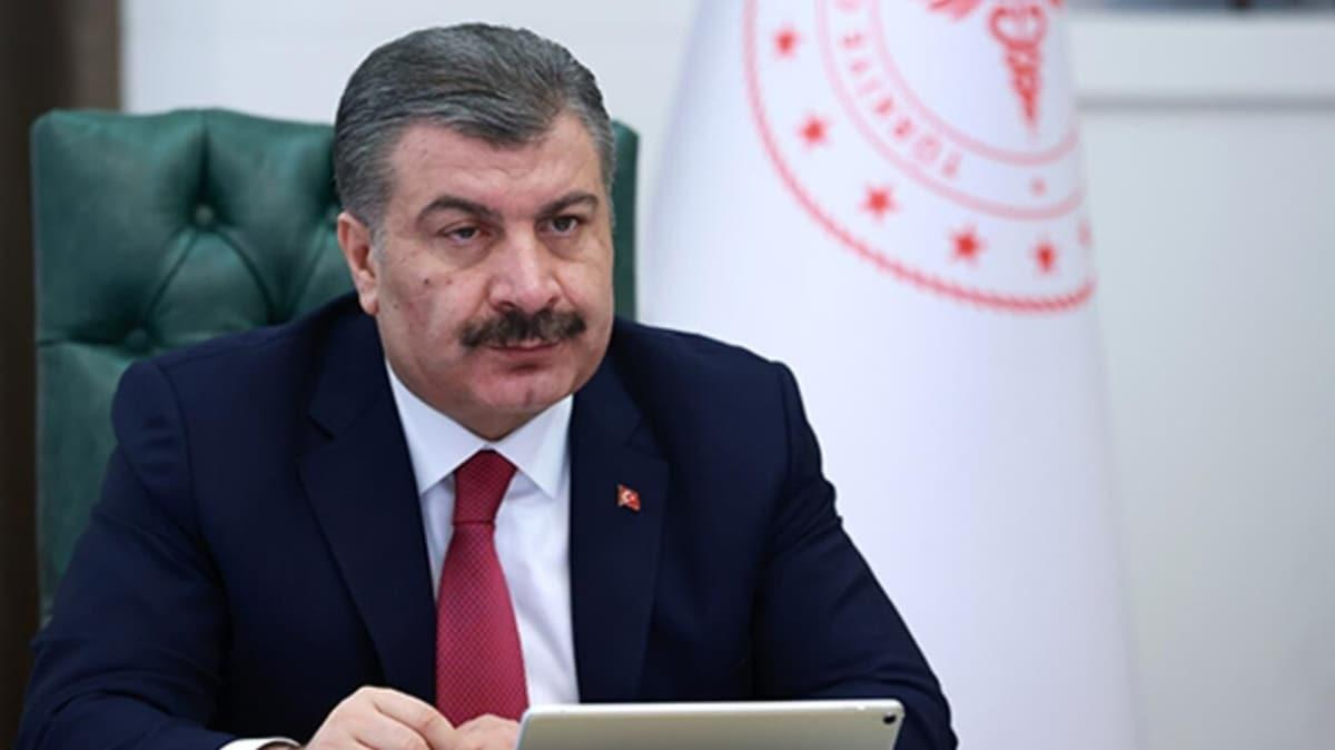 Sağlık Bakanı Koca'dan Büşra hemşireye destek telefonu