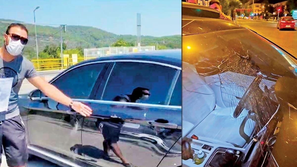 CHP'li Fethiye Belediye Başkanı Alim Karaca trafikte dehşet saçtı