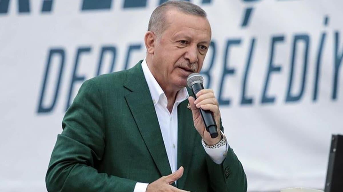 Başkan Erdoğan: Esnafa 50 bin lira hibe, KOBİ'lere 100 bin lira faizsiz kredi desteği verilecek